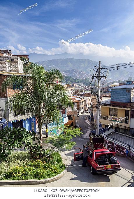 Comuna 13, Medellin, Antioquia Department, Colombia