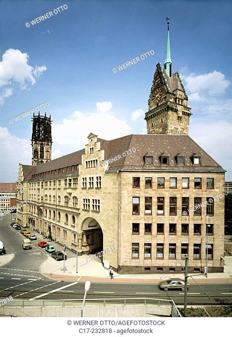 Germany, Duisburg, Ruhr area, North Rhine-Westphalia, city hall