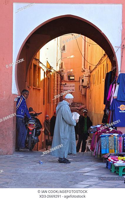 Place Jemaa El Fna, Medina, Marrakech, Morocco
