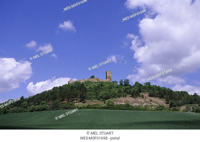 Burg Gleichen, between Gotha and Arnstadt, Thuringia, Germany