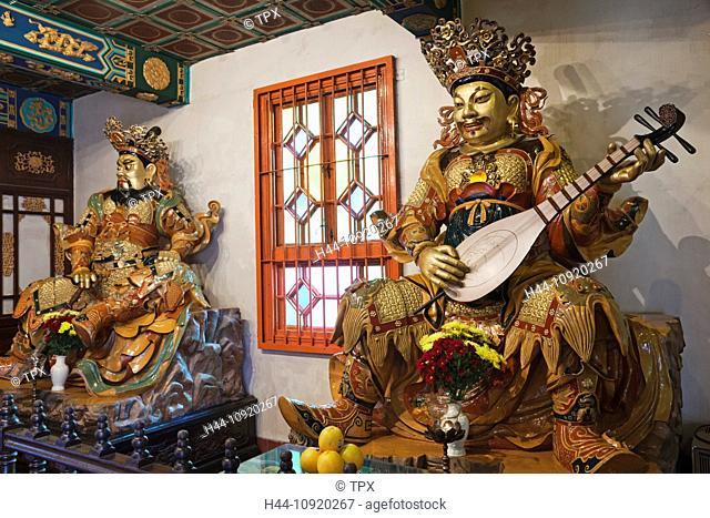 Asia, China, Hong Kong, Lantau, Buddhism, Buddhist, Taoism, Taoist, Religion, Po Lin Monastery, Po Lin, Monastery, Ngong Ping, Tourism, Holiday, Vacation