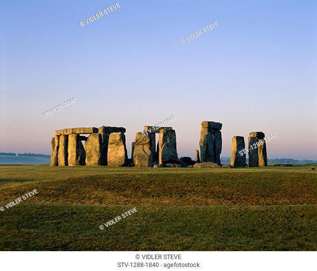 Ancient, England, United Kingdom, Great Britain, Europe, Holiday, Landmark, Monument, Ruins, Stonehenge, Stones, Tourism, Travel