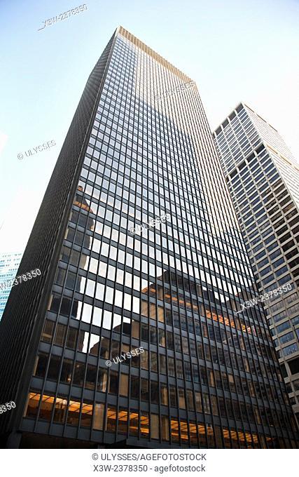 Seagram building, Park avenue, skyscraper, midtown, manhattan, new york, usa, america