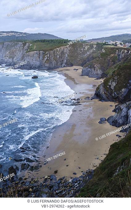 O Picon beach by the Loiba cliffs in Coruna province, Galicia, Spain, Europe
