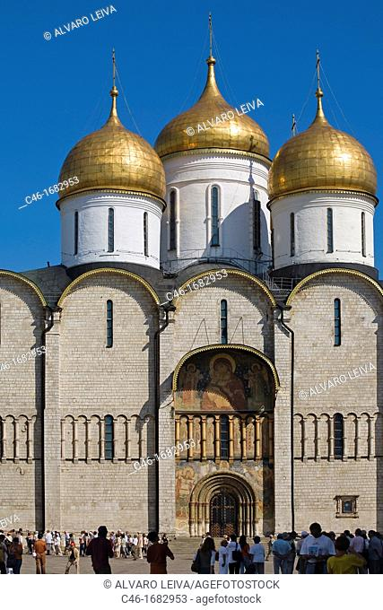 Assumption Cathedral  Kremlin  Moscow  Russia
