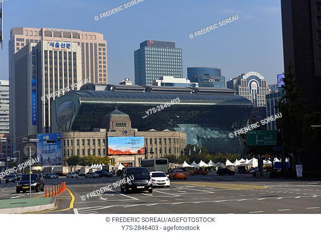 City Hall,Seoul Plaza,Seoul,South Korea