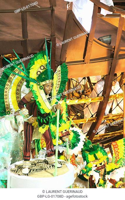 Carnival 2009, School of Samba Mangueira, Rio de Janeiro, Brazil