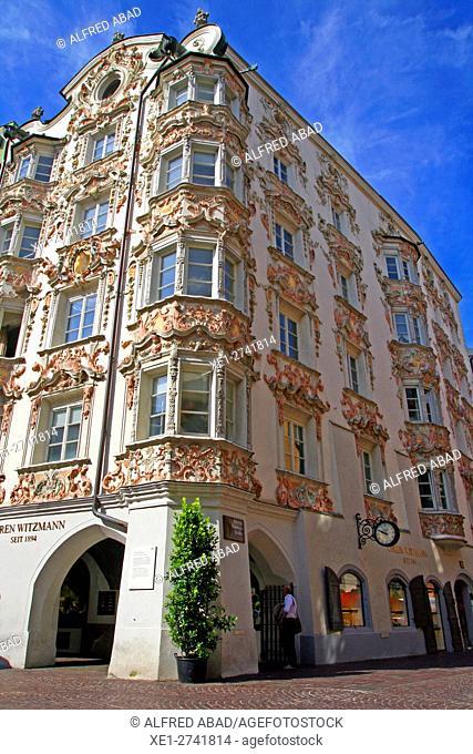 Helblinghaus House, Innsbruck, Tyrol,  Austria