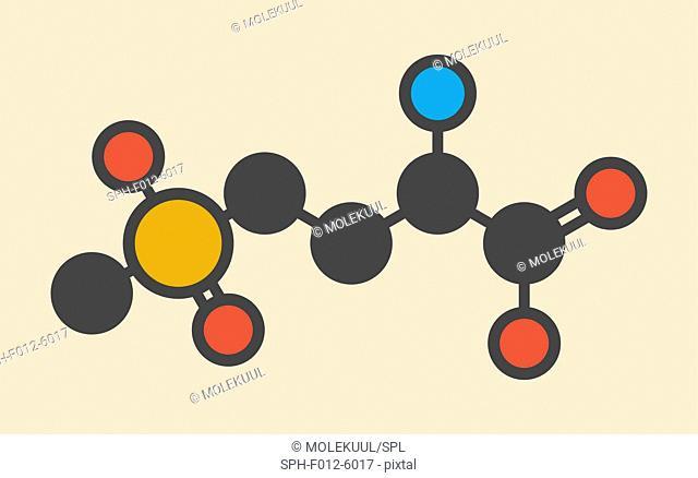 Glufosinate herbicide molecule