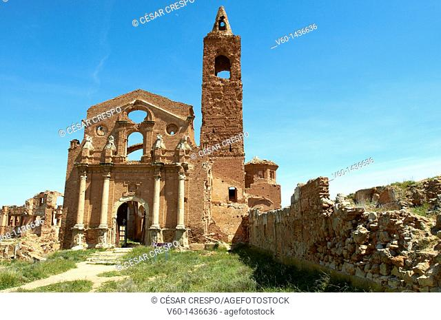 -Spanish Civil War- Belchite, Aragon
