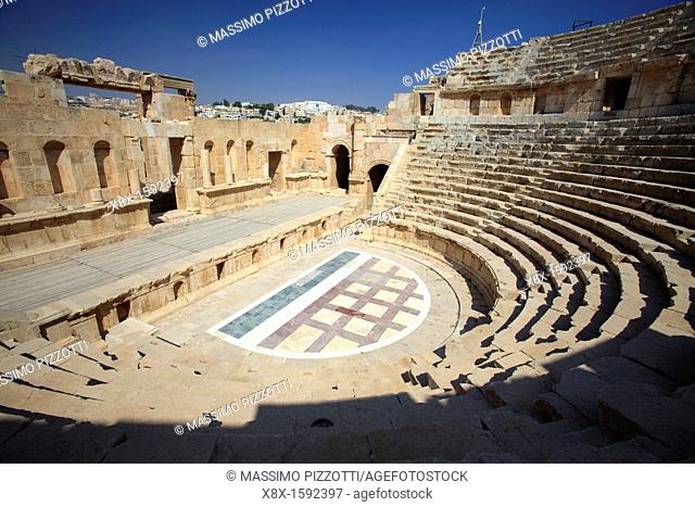The Roman North Theater, Jerash Jordan