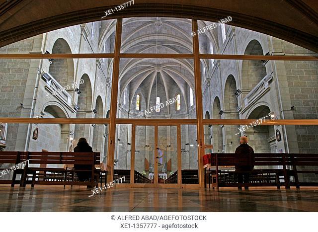 Church of Santa Eulalia, Gothic, Esparraguera, Catalonia, Spain