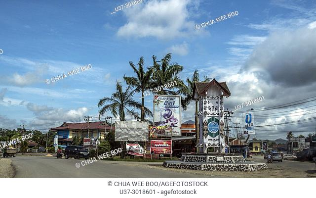 Ampar junction, West Kalimantan, Indonesia