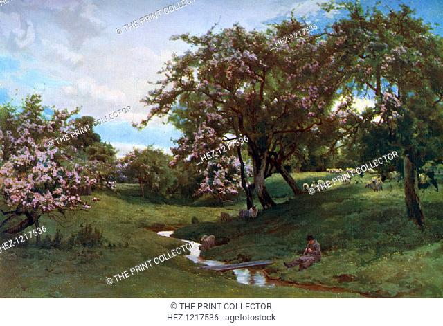 `When Nature Painted all Things Gay,' 1887, (1912). A colour print from Famous Paintings, with an introduction by Gilbert Chesterton, Cassell and Company