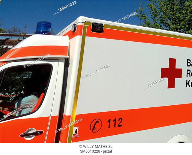German Ambulance in Bavaria, Germany