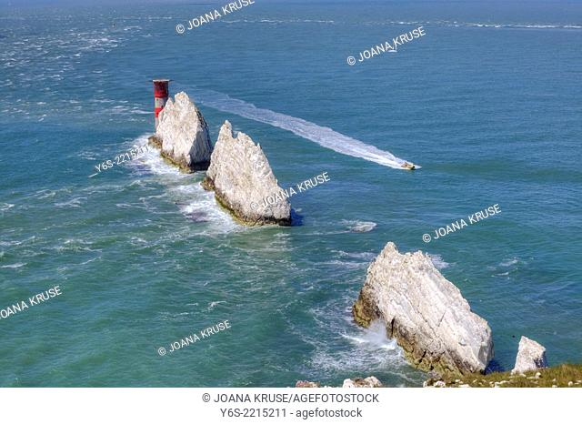 The Needles, Isle of Wight, England, United Kingdom