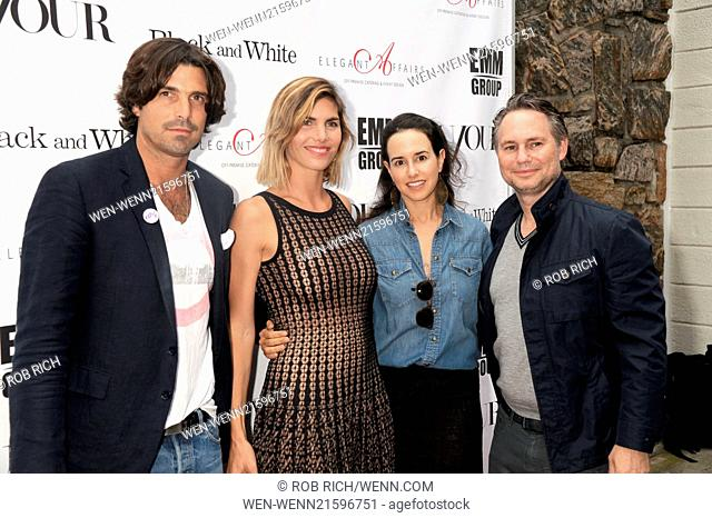 'Black and White' Screening at UA Cinema in East Hampton Featuring: Nacho Figueras,Delfina Balquier,Haley Binn,Jason Binn Where: East Hampton, New York