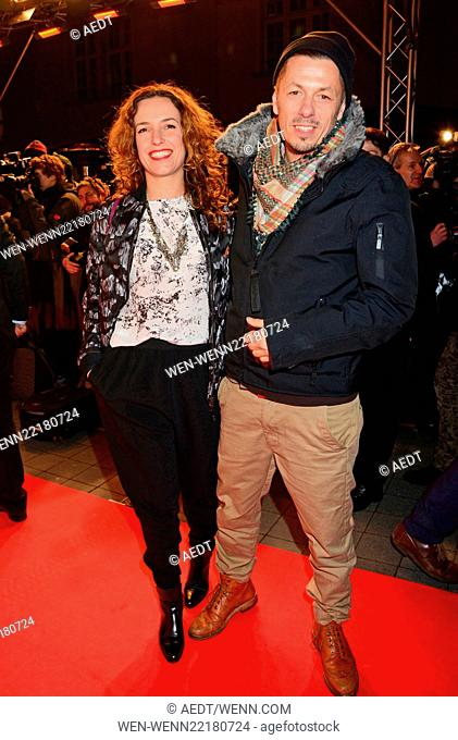 65th Berlin International Film Festival (Berlinale) - 99Fire Films Award - red carpet arrivals at Admiralspalast Featuring: Ulli and Michi Beck Where: Berlin