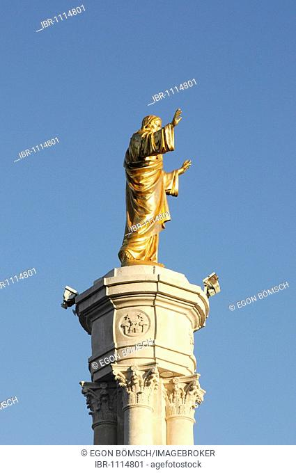 Christ statue, Fatima, place of pilgrimage, Central Portugal, Portugal, Europe