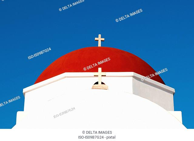 Church, Mykonos Town, Cyclades, Greece