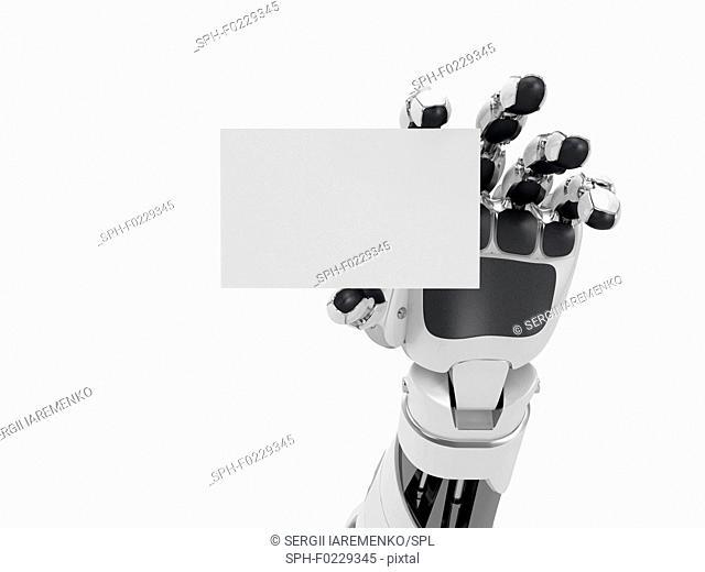 Robotics Business Card Stock Photos And Images Age Fotostock