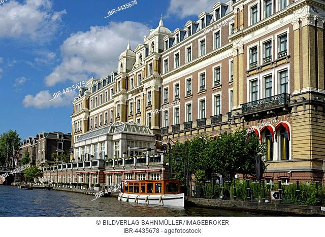 Amstel Hotel on the Amstel, Amsterdam, Holland, The Netherlands