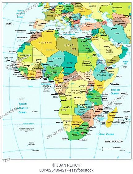 Africa region map