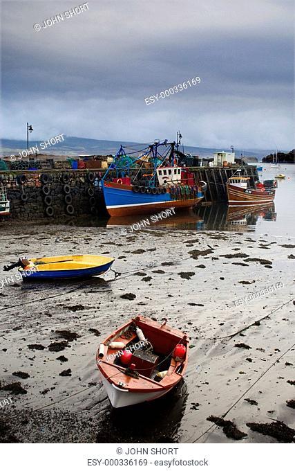 Boats at Tobermory, Isle of Mull, Scotland
