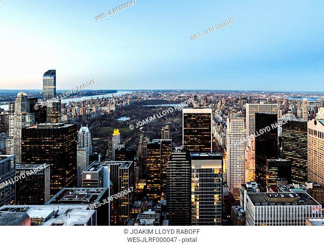 USA, New York, New York City, Manhattan, cityscape