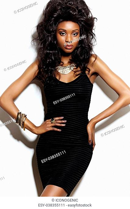 e6ac4a340a059 African american woman big hair Stock Photos and Images | age fotostock