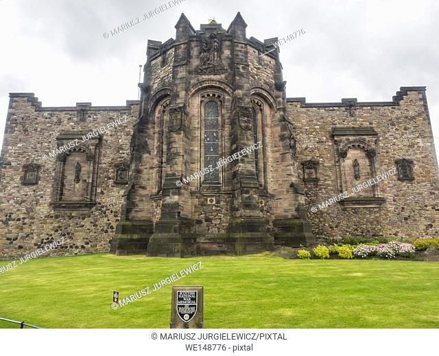 Scottish National War Memorial is located in Edinburgh Castle and commemorates Scottish soldiers who died in the two world wars and more recent conflicts