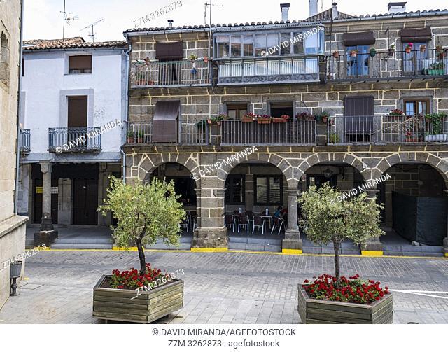 Casa porticada. Béjar. Salamanca. Castilla León. España