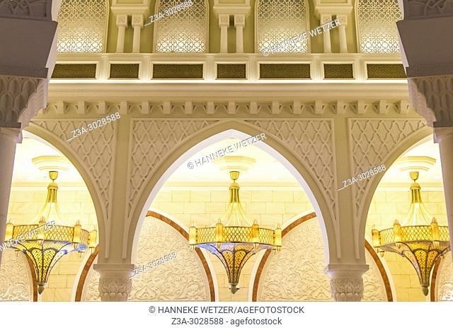Chic interior of the Dubai Mall, Dubai