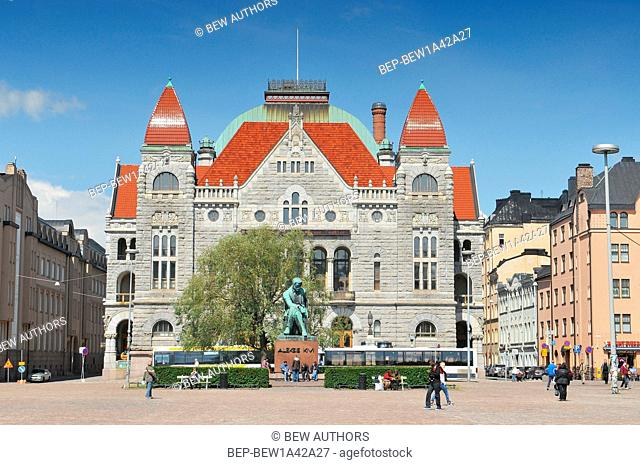 Finnish National Theater. Helsinki, Finland