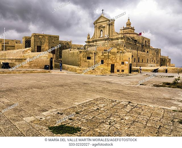 Church in Rabat. Malta. Europe
