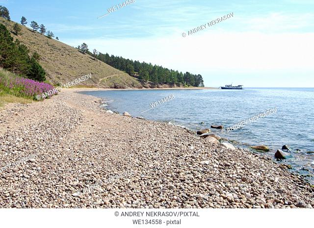 Reserve, Cape Sobolev, lake Baikal, Siberia, Russian Federation