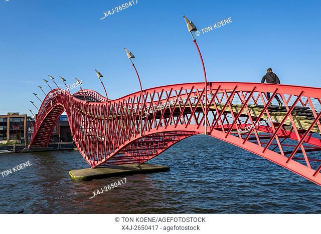 Bridge in East Amsterdam (ZEEBURG)