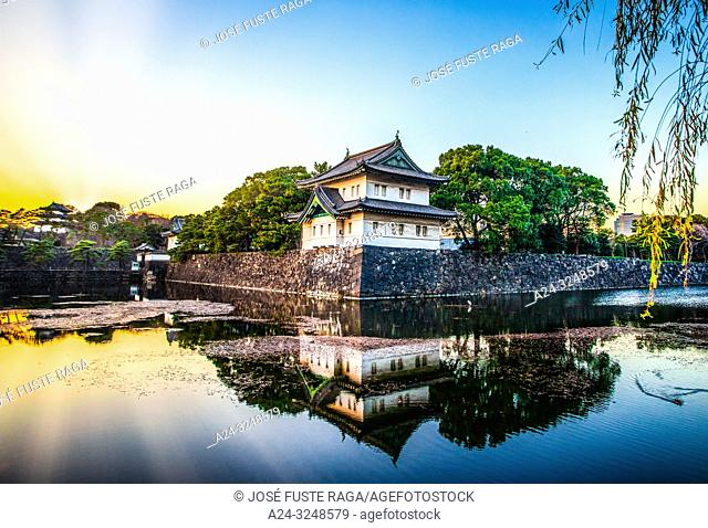 Japan, Tokyo City, The Impeerial Palace