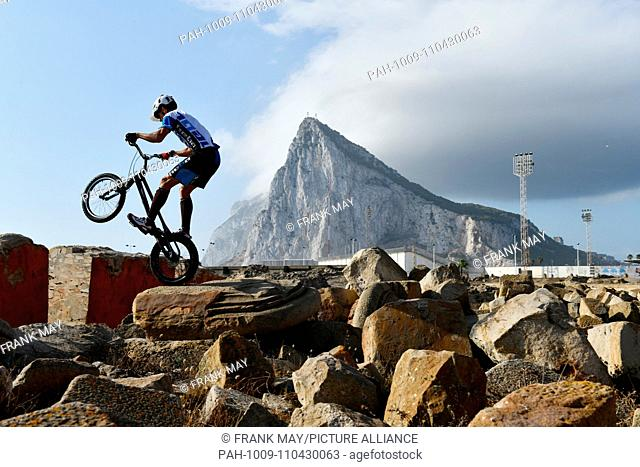 Rock of Gibraltar, Spain, near city of La Linea, 29.September 2018. Photo: Frank May | usage worldwide. - La Linea/Spain