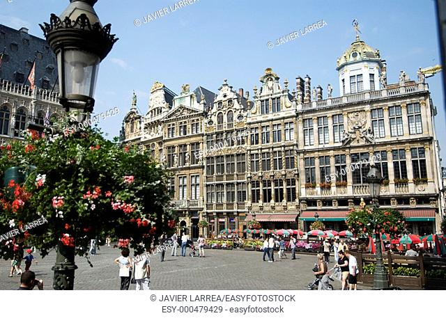 GRAND PLACE GROTE MARK BRUSSEL BRUXELLES BRABANTE BELGIUM