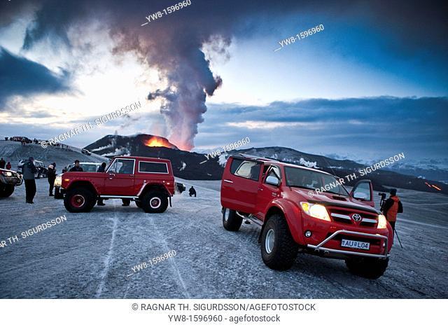 Eyjafjalljokull Volcano Eruption, Iceland 2010