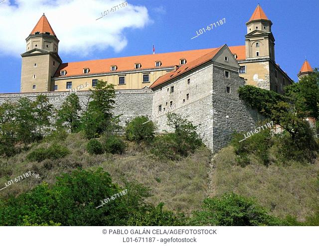Bratislava Castle. Bratislava. Slovakia