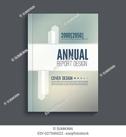 Brochure annual report. Cover for journal, book, magazine. Leaflet Flyer template A4 size design. Layout dj poster, booklet, postcard