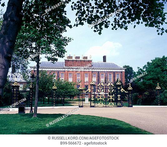 Kensington Palace, Kensington Gardens, London, England, U.K