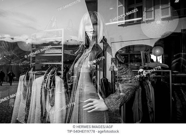 Switzerland, Canton Ticino, Ascona, shop