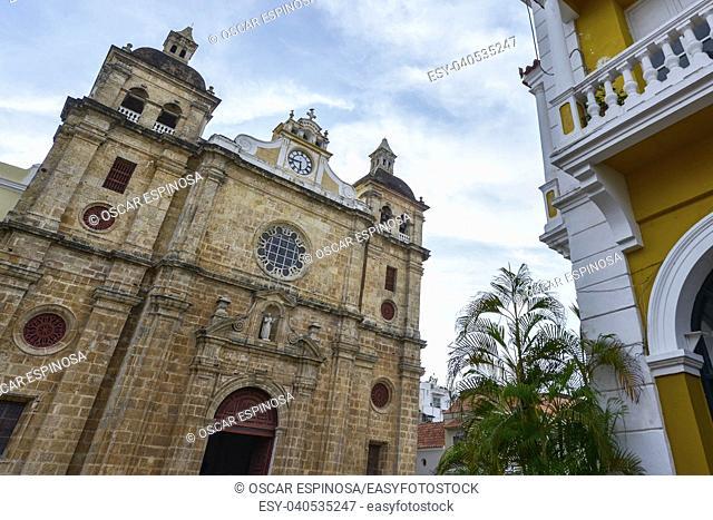 San Pedro Claver church in Cartagena, Colombia