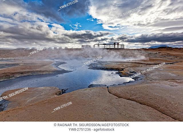 Namaskard- Geothermal Volcanic area, Northern Iceland