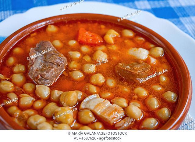 Stew, close view. Spain