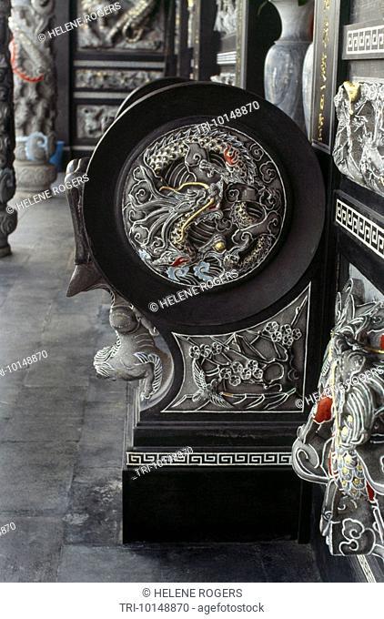 Sun Moon Lake Taiwan Taoist Wenwu Temple Dragon & Phoenix