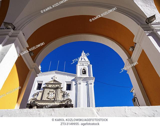 Church of El Carmen Alto, Old Town, Quito, Pichincha Province, Ecuador